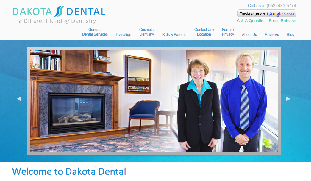 Dakota Dental Family Dentistry introduces new website